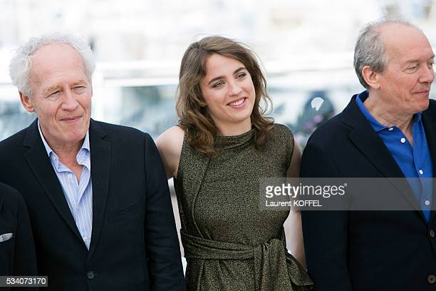 Director JeanPierre Dardenne Adèle Haenel and director Luc Dardenne attend 'The Unknown Girl ' Photocall during the 69th annual Cannes Film Festival...