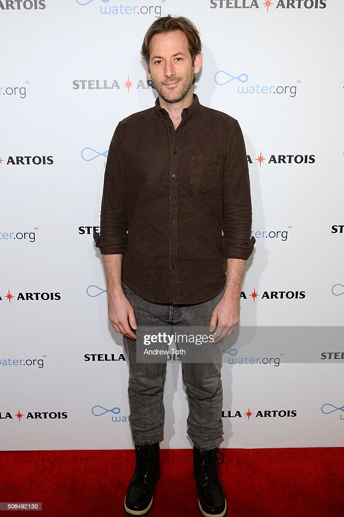 Director Jeff Baena attends Stella Artois Filmmaker Lounge presents 'Joshy' supper on January 23 2016 in Park City Utah