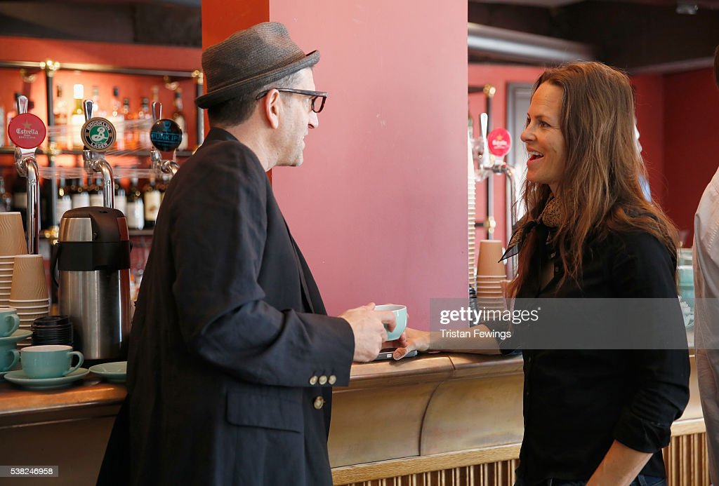Director Jeff Feuerzeig and Producer Heather Rae attend the Filmmakers Brunch during the Sundance Film Festival London 2016 at Picturehouse Central...