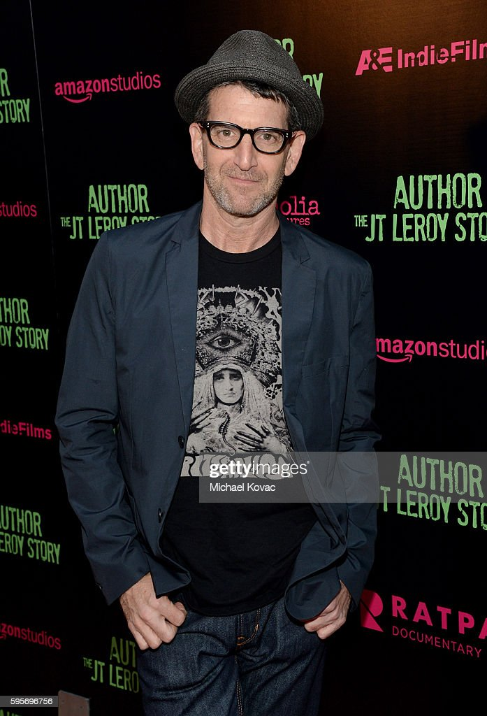 Director Jeff Feuerzeig attends the Los Angeles Premiere of 'Author The JT Leroy Story' at NeueHouse Hollywood on August 25 2016 in Los Angeles...