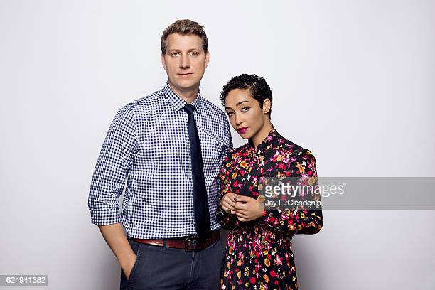 Director Jeff Nichols and actress Ruth Negga from the film 'Loving' pose for a portraits at the Toronto International Film Festival for Los Angeles...