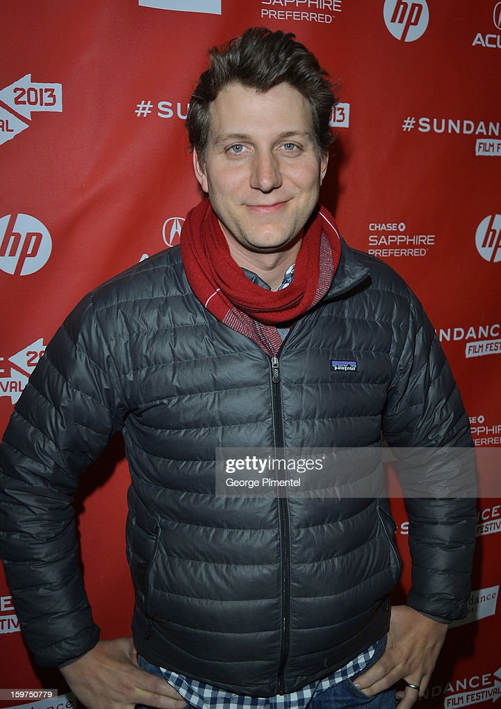 Director <a gi-track='captionPersonalityLinkClicked' href=/galleries/search?phrase=Jeff+Nichols+-+Director&family=editorial&specificpeople=7451429 ng-click='$event.stopPropagation()'>Jeff Nichols</a> arrives at the 2013 Sundance Film Festival Premiere of 'Mud' at The Marc Theatre on January 19, 2013 in Park City, Utah.