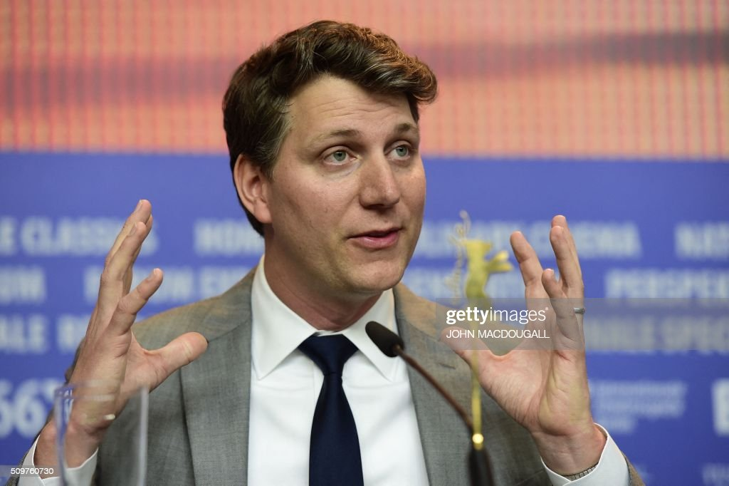 US director Jeff Nichols attends a press conference for the film ' Midnight Special by Jeff Nichols' screened in competition of the 66th Berlinale Film Festival in Berlin on February 12, 2016. / AFP / John MACDOUGALL