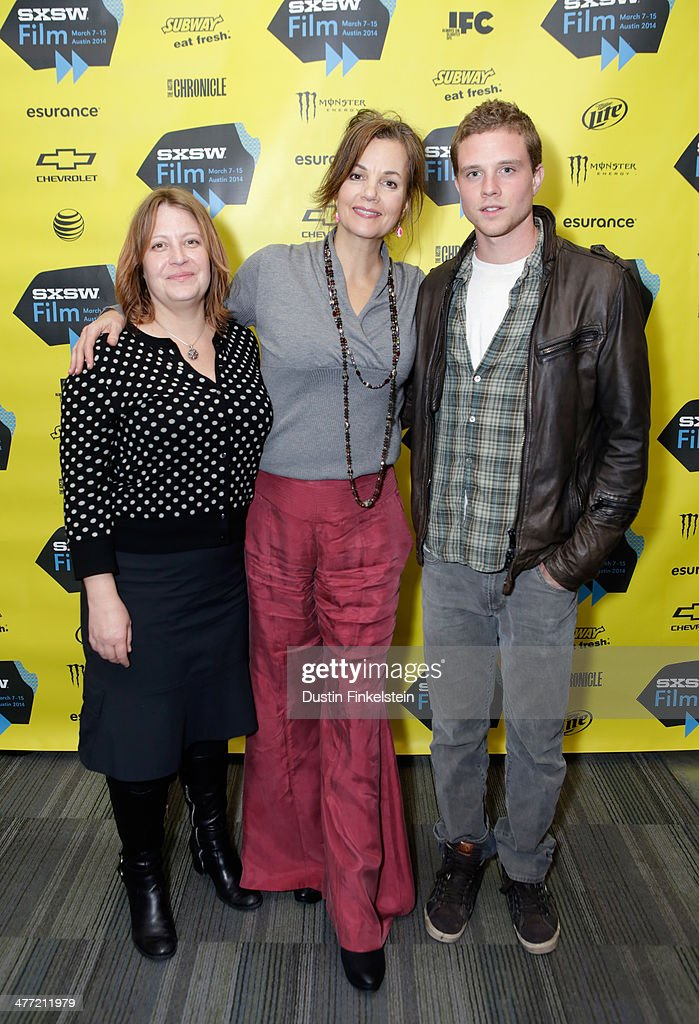 Director Jen McGowan and actors <a gi-track='captionPersonalityLinkClicked' href=/galleries/search?phrase=Margaret+Colin&family=editorial&specificpeople=960975 ng-click='$event.stopPropagation()'>Margaret Colin</a> and <a gi-track='captionPersonalityLinkClicked' href=/galleries/search?phrase=Jonny+Weston&family=editorial&specificpeople=8809342 ng-click='$event.stopPropagation()'>Jonny Weston</a> attend the 'Kelly & Cal' Photo Op and Q&A during the 2014 SXSW Music, Film + Interactive Festival at Rollins Theatre at The Long Center on March 7, 2014 in Austin, Texas.