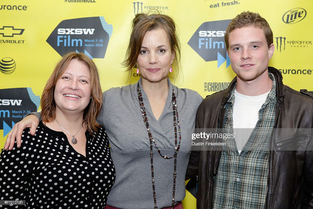 Director Jen McGowan and actors Margaret Colin and Jonny Weston attend the 'Kelly & Cal' Photo Op and Q&A during the 2014 SXSW Music, Film + Interactive Festival at Rollins Theatre at The Long Center on March 7, 2014 in Austin, Texas.