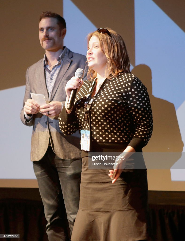 Director Jen McGowan speaks onstage at the 'Kelly & Cal' Photo Op and Q&A during the 2014 SXSW Music, Film + Interactive Festival at Rollins Theatre at The Long Center on March 7, 2014 in Austin, Texas.