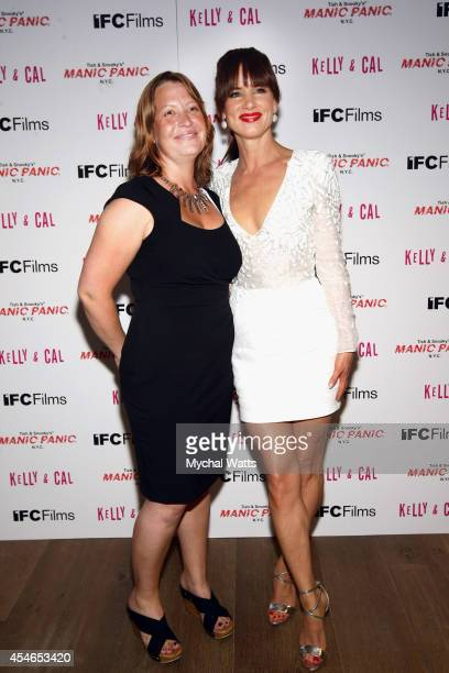 Director Jen McGowen and Actor Juliette Lewis attend 'Kelly Cal' New York Screening at Crosby Hotel on September 4 2014 in New York City