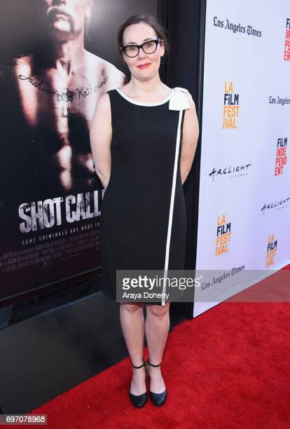 Director Jennifer Cochis attends the 'Shot Caller' Premiere during the 2017 Los Angeles Film Festival at Arclight Cinemas Culver City on June 17 2017...