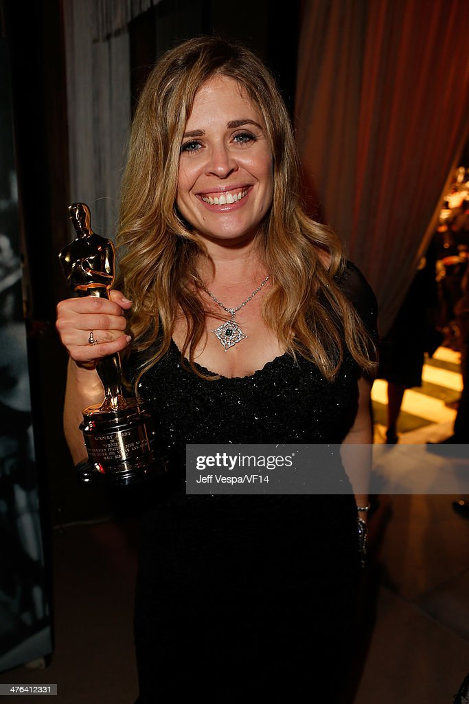 Director Jennifer Lee attends the 2014 Vanity Fair Oscar Party Hosted By Graydon Carter on March 2 2014 in West Hollywood California