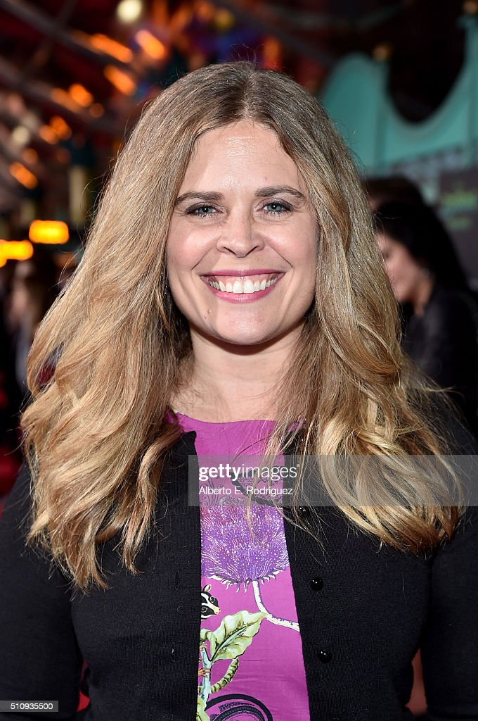 Director Jennifer Lee attends the Los Angeles premiere of Walt Disney Animation Studios' 'Zootopia' on February 17 2016 in Hollywood California