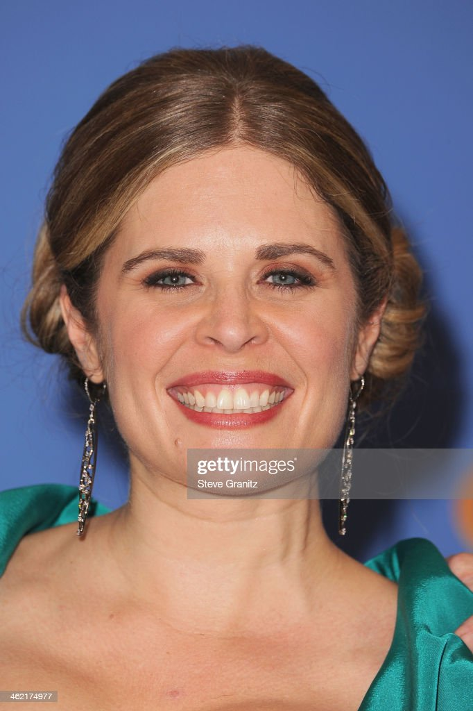 Director Jennifer Lee poses in the press room during the 71st Annual Golden Globe Awards held at The Beverly Hilton Hotel on January 12 2014 in...