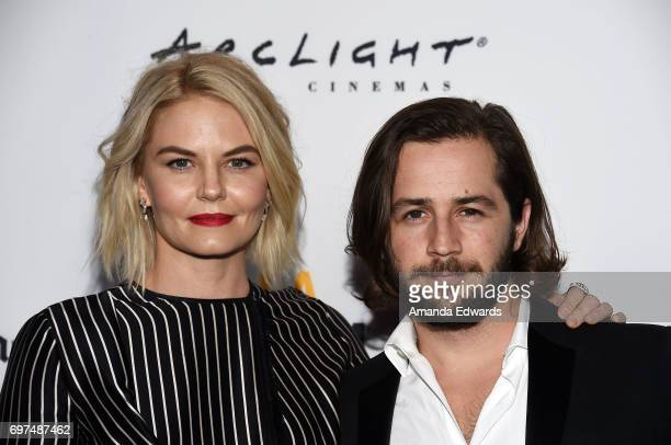 Director Jennifer Morrison and actor Michael Angarano attend the 2017 Los Angeles Film Festival 'Sun Dogs' premiere at the ArcLight Santa Monica on...