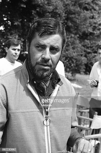 Director Jerry Lewis seen here on location at Eastnor Castle Ledbury whilst filming 'One More Time' Circa 1st August 1969