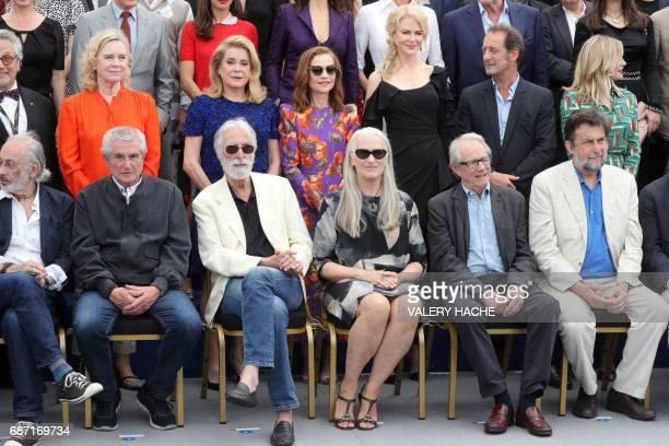 US director Jerry Schatzberg French director Claude Lelouch Austrian director Michael Haneke New Zealander director Jane Campion British director Ken...