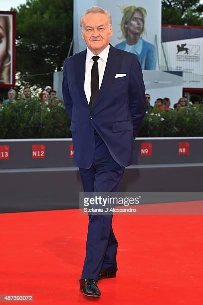 Director Jerzy Skolimowski attends a premiere for '11 Minutes' during the 72nd Venice Film Festival at Sala Grande on September 9 2015 in Venice Italy