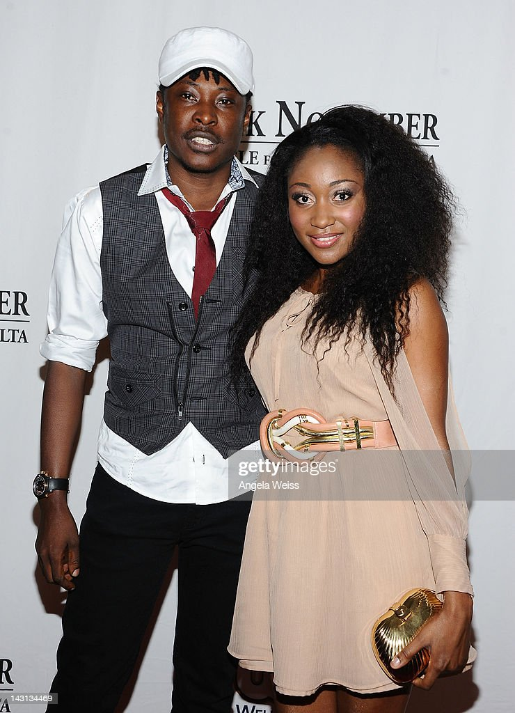 Director Jeta Amata and Mbong Amata attend the 'Black November' screening on April 18, 2012 in Beverly Hills, California.