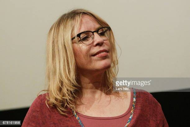 Director Jill Campbell on stage during the MR CHIBBS Opening Night screening and QA at the IFC Center on May 3 2017 in New York City