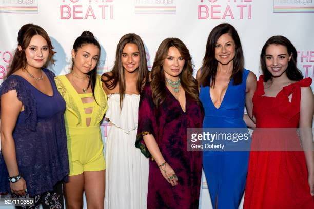 Director Jillian Clare Actors Laura Krystine Brisa Lalich Lily Melgar Marie Wilson and Veronica St Clare arrive for the 'To The Beat' Special...