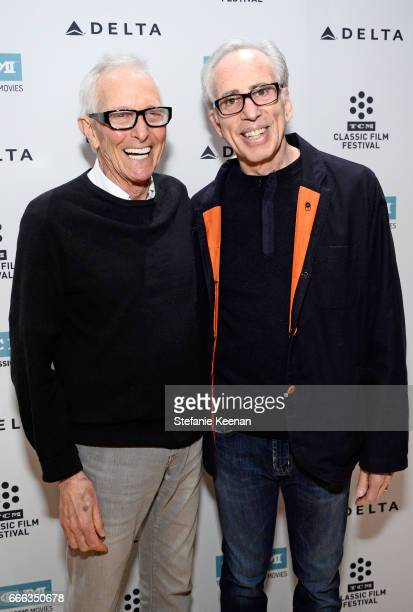 Director Jim Abrahams and producer Jerry Zucker at the screening of 'The Kentucky Fried Movie' during the 2017 TCM Classic Film Festival on April 8...