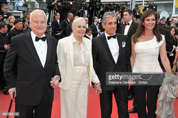 Director Jim Ivory actress Vanessa Redgrave Distributor Charles S Cohen and Clo Cohen attend the 'Money Monster' premiere during the 69th annual...