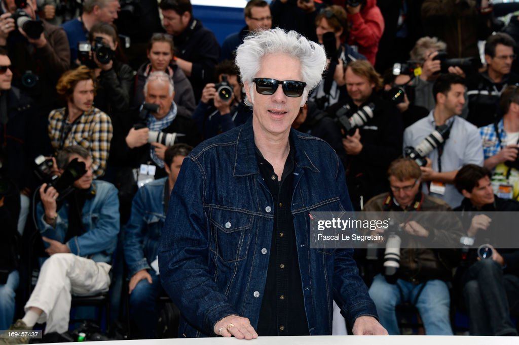 Director Jim Jarmusch attends the 'Only Lovers Left Alive' Photocall during The 66th Annual Cannes Film Festival on May 25, 2013 in Cannes, France.