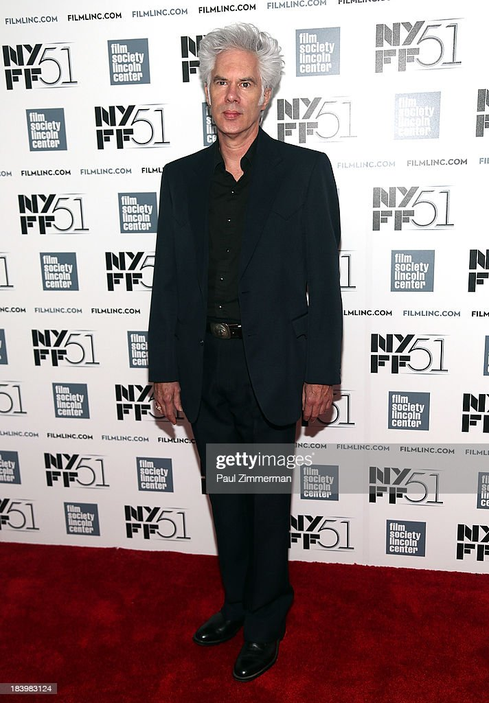 Director Jim Jarmusch attends the 'Only Lovers Left Alive' Premiere during the 51st New York Film Festival at Alice Tully Hall at Lincoln Center on October 10, 2013 in New York City.