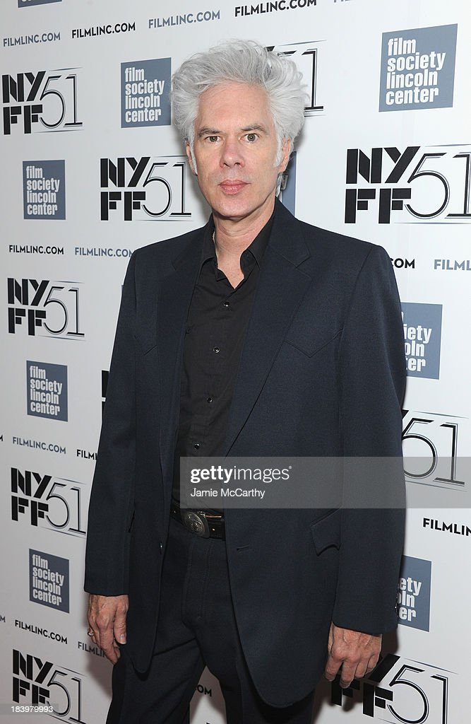 Director <a gi-track='captionPersonalityLinkClicked' href=/galleries/search?phrase=Jim+Jarmusch&family=editorial&specificpeople=208784 ng-click='$event.stopPropagation()'>Jim Jarmusch</a> attends the 'Only Lovers Left Alive' screening during the 51st New York Film Festival at Alice Tully Hall at Lincoln Center on October 10, 2013 in New York City.