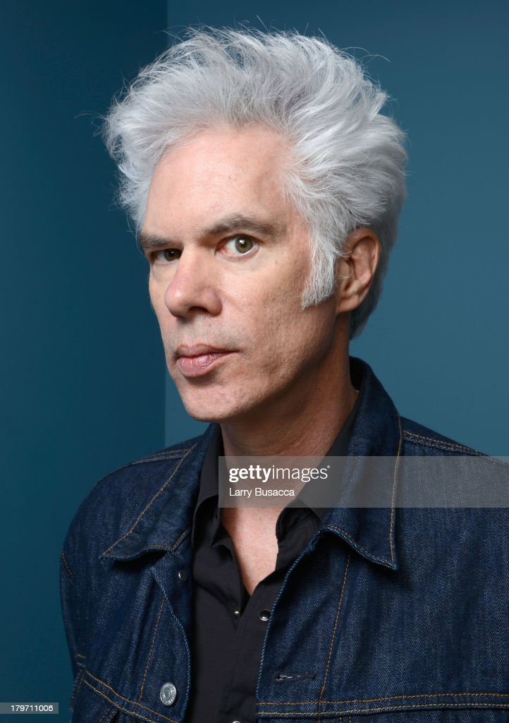 Director <a gi-track='captionPersonalityLinkClicked' href=/galleries/search?phrase=Jim+Jarmusch&family=editorial&specificpeople=208784 ng-click='$event.stopPropagation()'>Jim Jarmusch</a> of 'Only Lovers Left Alive' poses at the Guess Portrait Studio during 2013 Toronto International Film Festival on September 6, 2013 in Toronto, Canada.
