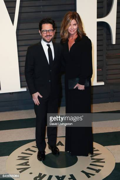 Director JJ Abrams and Katie McGrath attend the 2017 Vanity Fair Oscar Party hosted by Graydon Carter at the Wallis Annenberg Center for the...