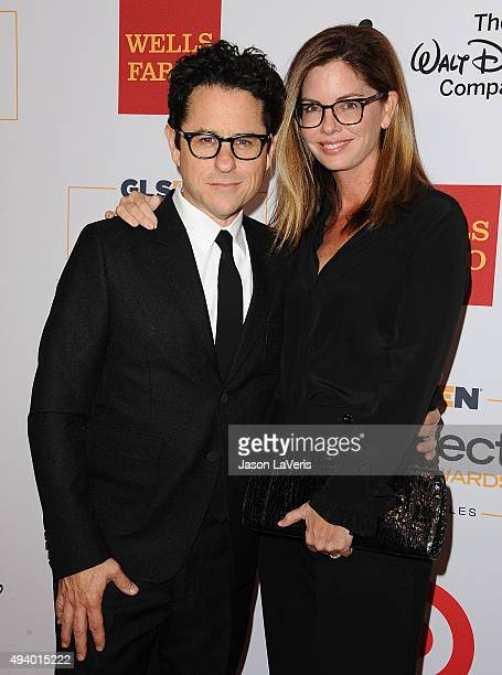 Director JJ Abrams and wife Katie McGrath attend the 2015 GLSEN Respect Awards at the Beverly Wilshire Four Seasons Hotel on October 23 2015 in...