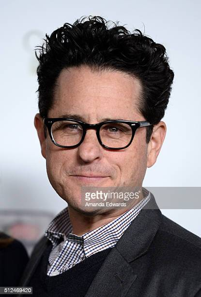 Director JJ Abrams arrives at the 2016 Oscar Wilde Awards at Bad Robot on February 25 2016 in Santa Monica California