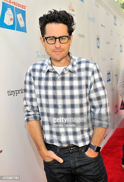 Director JJ Abrams attends Milk Bookies 6th Annual Story Time Celebration on April 19 2015 in Los Angeles California