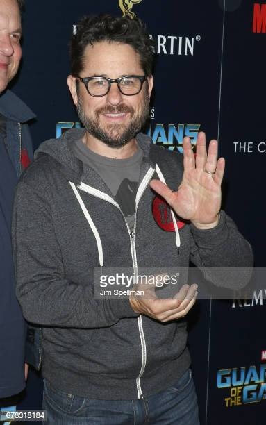Director JJ Abrams attends the screening of Marvel Studios' 'Guardians Of The Galaxy Vol 2' hosted by The Cinema Society at the Whitby Hotel on May 3...