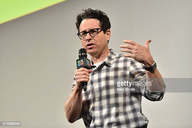 Director JJ Abrams attends the screening of 'Secrets of The Force Awakens A Cinematic Journey' during the 2016 SXSW Music Film Interactive Festival...
