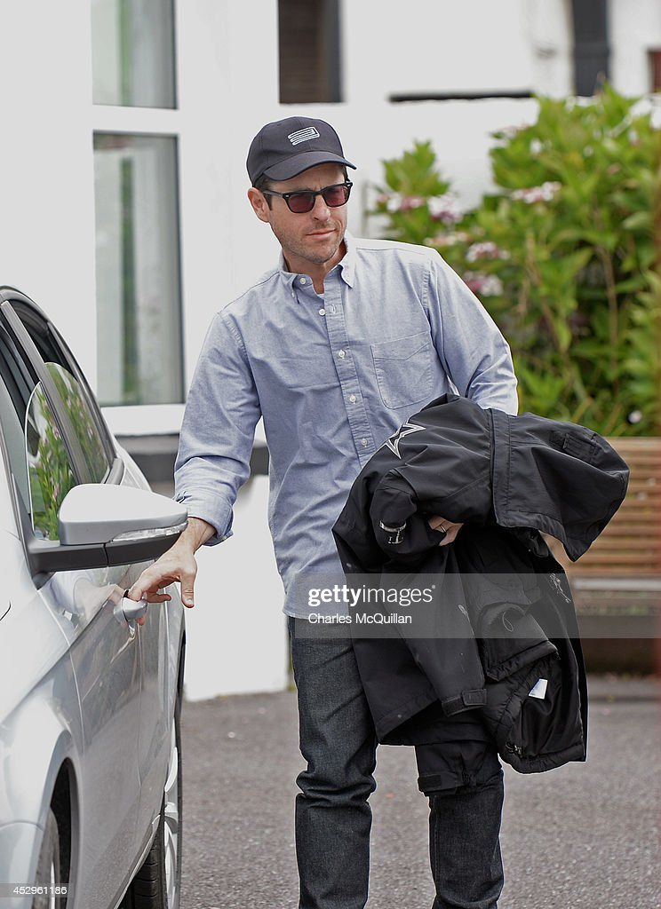 Director JJ Abrams this morning as Star Wars Episode VII continues filming on July 30, 2014 in Waterville, County Kerry, Ireland.