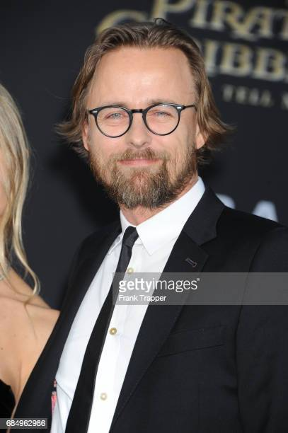 Director Joachim Ronning arrives at the premiere of Disney's 'Pirates of the Caribbean Dead Men Tell No Tales' at the Dolby Theatre on May 18 2017 in...