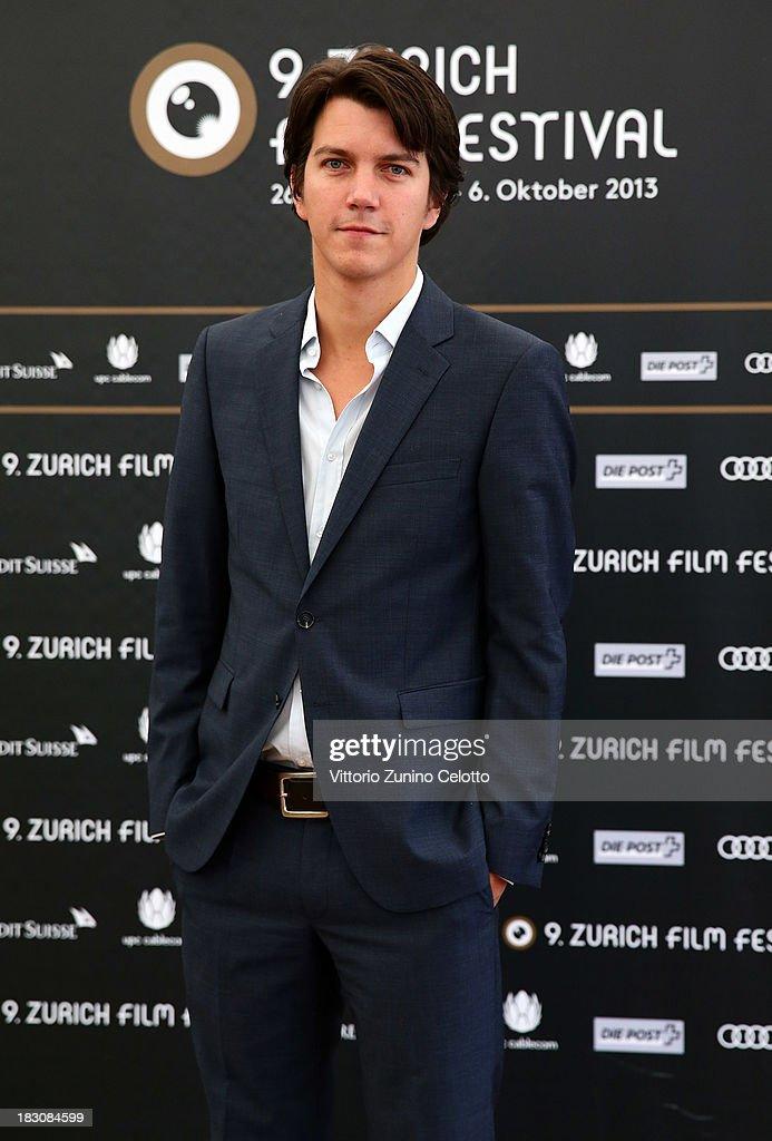 Director Jochen Laube, German Language Feature Film Jury Member, attends the Jury Photocall during the Zurich Film Festival 2013 on October 4, 2013 in Zurich, Switzerland.