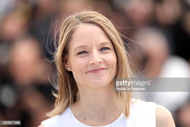 Director Jodie Foster attends the 'Money Monster' Photocall during the 69th annual Cannes Film Festival on May 12 2016 in Cannes France