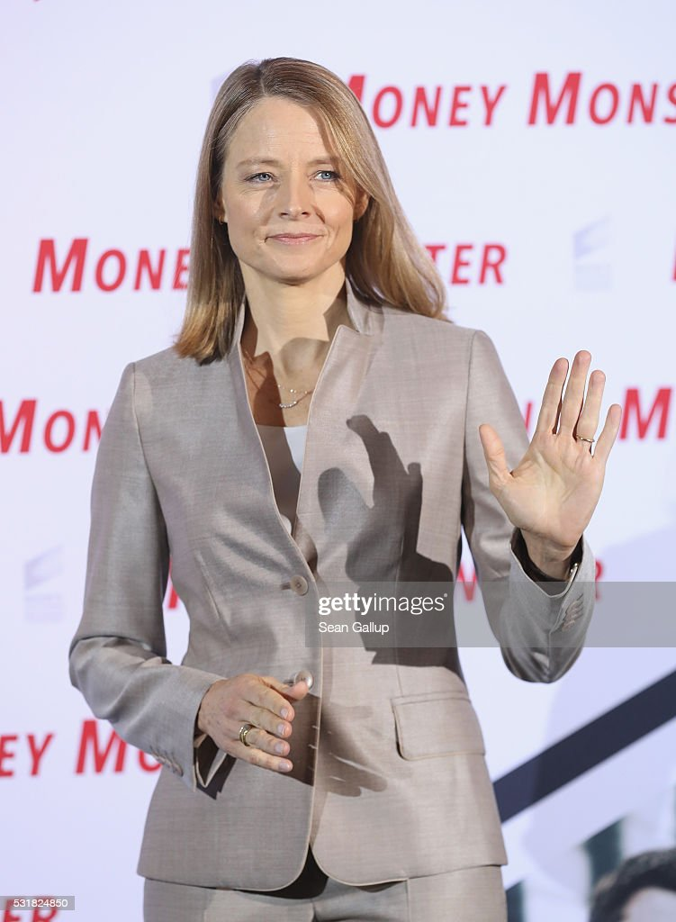 Director Jodie Foster attends the photocall for the film 'Money Monster' at Hotel Adlon on May 17 2016 in Berlin Germany
