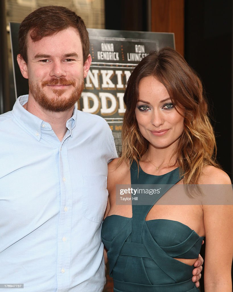 Director Joe Swanberg and actress <a gi-track='captionPersonalityLinkClicked' href=/galleries/search?phrase=Olivia+Wilde&family=editorial&specificpeople=235399 ng-click='$event.stopPropagation()'>Olivia Wilde</a> attend the 'Drinking Buddies' screening at Nitehawk Cinema on August 19, 2013 in the Brooklyn borough of New York City.
