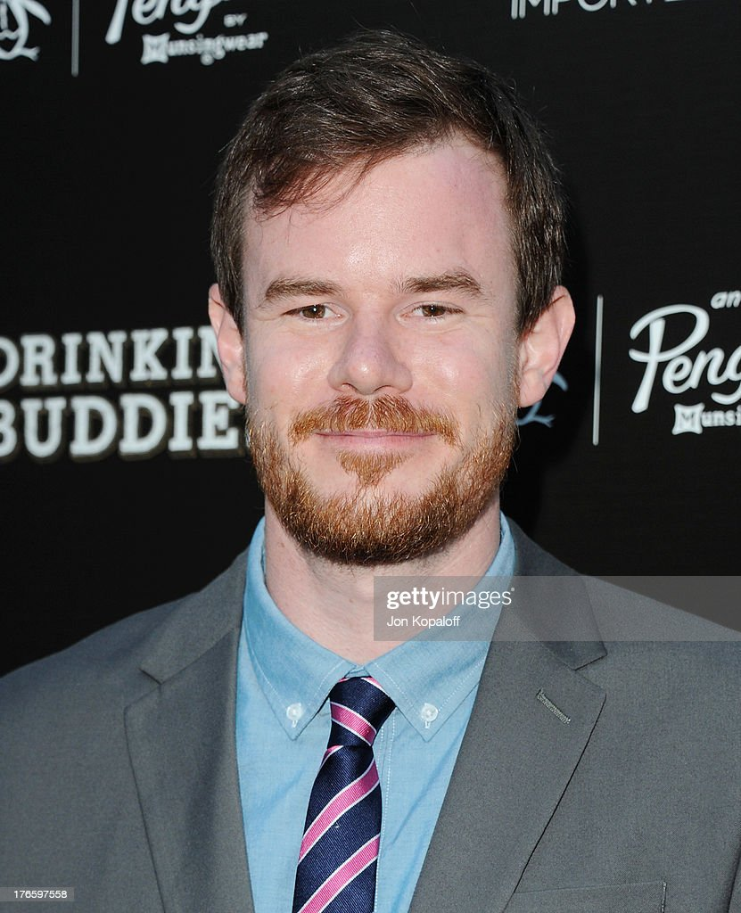 Director Joe Swanberg arrives at the Los Angeles Premiere 'Drinking Buddies' at ArcLight Hollywood on August 15, 2013 in Hollywood, California.