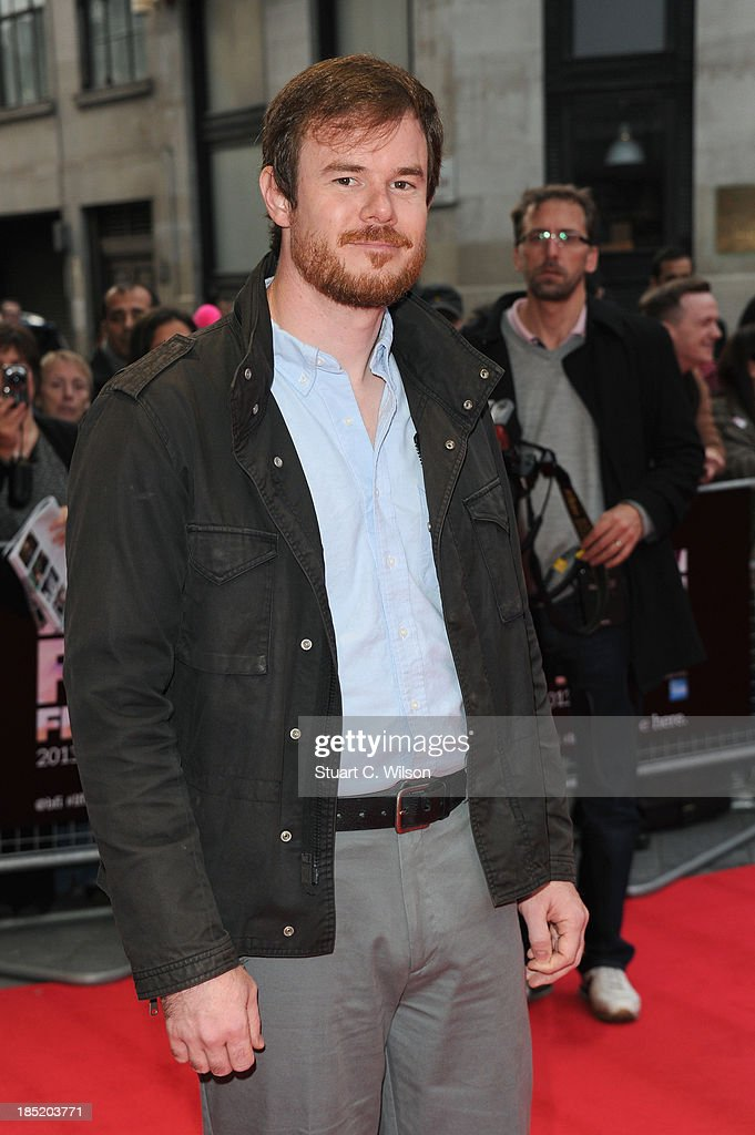 Director Joe Swanberg attends a screening of 'Drinking Buddies' during the 57th BFI London Film Festival at Odeon West End on October 18, 2013 in London, England.