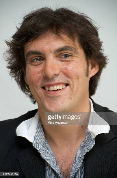 Director Joe Wright at the 'The Soloist' press conference at the Four Seasons Hotel on April 3 2009 in Beverly Hills California