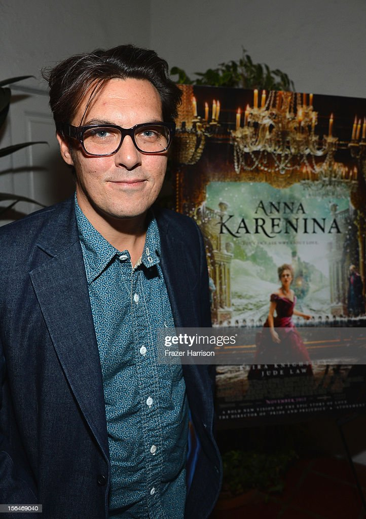 Director <a gi-track='captionPersonalityLinkClicked' href=/galleries/search?phrase=Joe+Wright+-+Director&family=editorial&specificpeople=771298 ng-click='$event.stopPropagation()'>Joe Wright</a> attends a reception honoring Keira Knightly at British Consulate LA with Focus Features and British Film Commission on November 15, 2012 in Los Angeles, California.