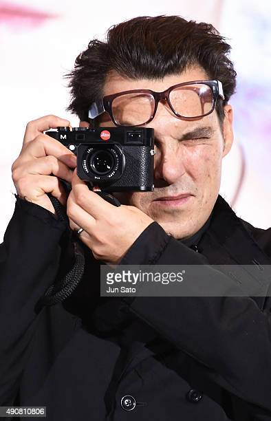 Director Joe Wright attends the Japan Premiere of 'Pan' at the Roppongi Hills on October 1 2015 in Tokyo Japan