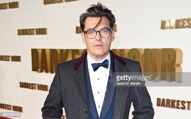 Director Joe Wright attends the UK Premiere of 'Darkest Hour' at Odeon Leicester Square on December 11 2017 in London England