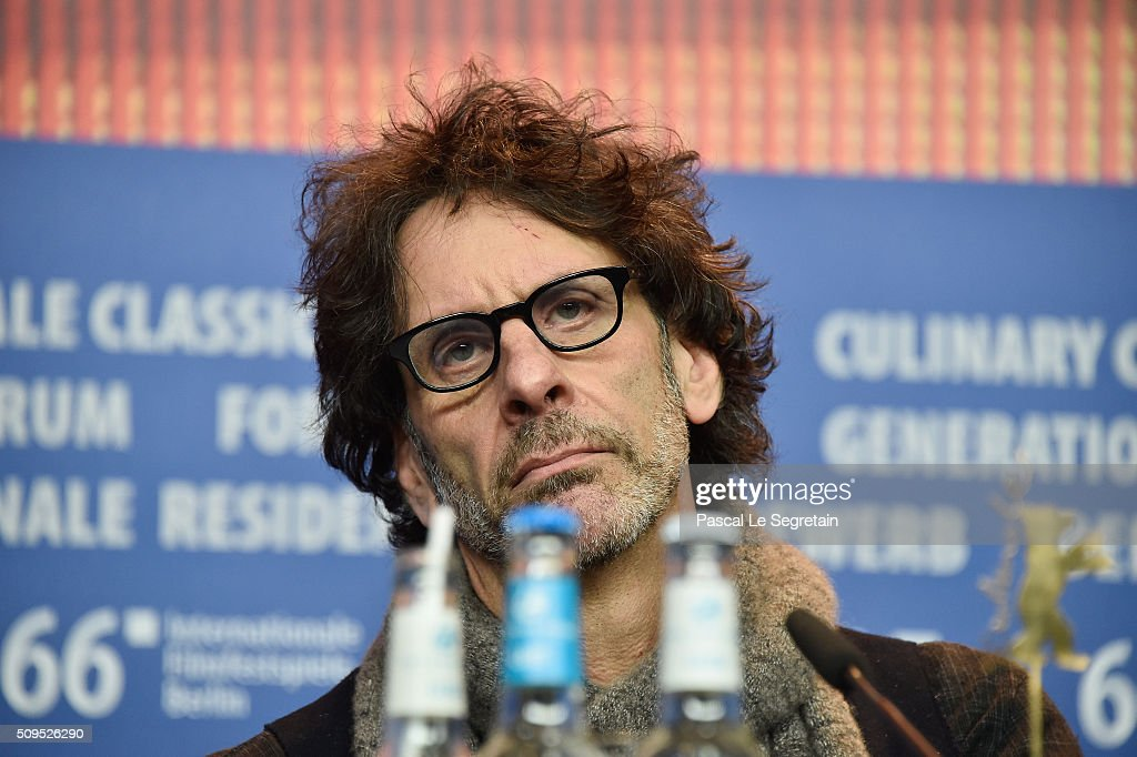Director <a gi-track='captionPersonalityLinkClicked' href=/galleries/search?phrase=Joel+Coen&family=editorial&specificpeople=4292064 ng-click='$event.stopPropagation()'>Joel Coen</a> attends the 'Hail, Caesar!' press conference during the 66th Berlinale International Film Festival Berlin at Grand Hyatt Hotel on February 11, 2016 in Berlin, Germany.