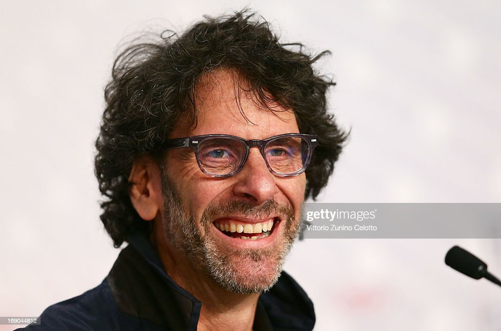 Director <a gi-track='captionPersonalityLinkClicked' href=/galleries/search?phrase=Joel+Coen&family=editorial&specificpeople=4292064 ng-click='$event.stopPropagation()'>Joel Coen</a> attends the 'Inside Llewyn Davis' Press Conference during The 66th Annual Cannes Film Festival at Palais des Festivals on May 19, 2013 in Cannes, France.