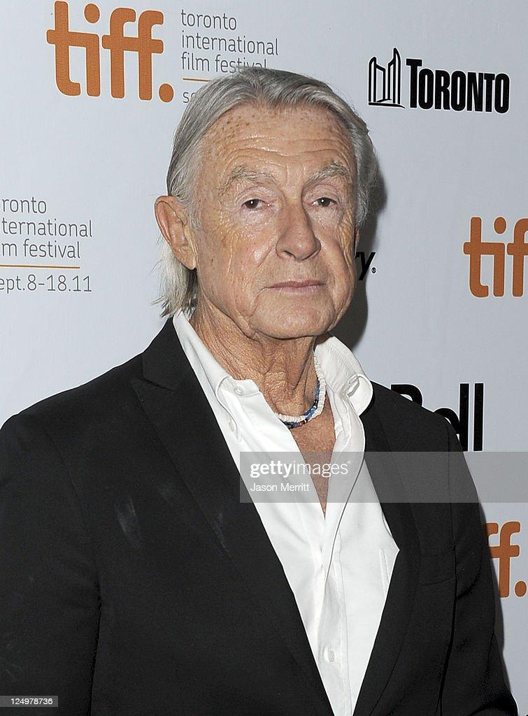 Director Joel Schumacher arrives at 'Trespass' Premiere at Roy Thomson Hall during the 2011 Toronto International Film Festival on September 14 2011...