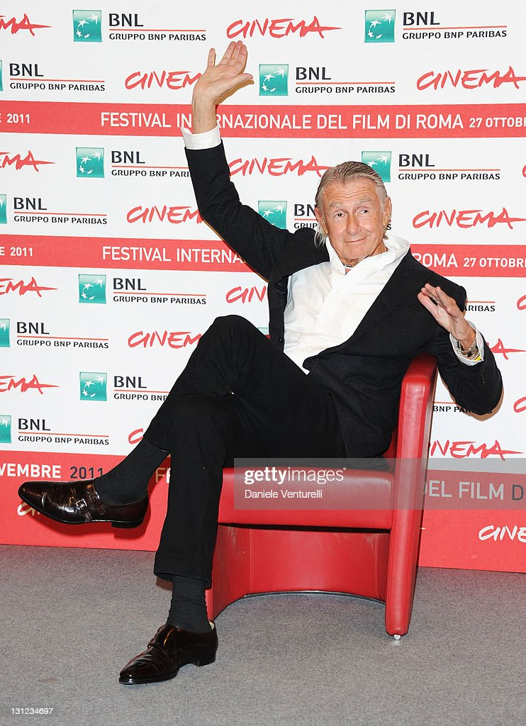 Director Joel Schumacher attends a photocall during the 6th International Rome Film Festival at Auditorium Parco Della Musica on November 3 2011 in...